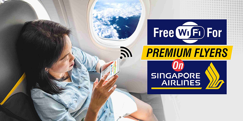 Free Wi-Fi For Premium Flyers On Singapore Airlines!