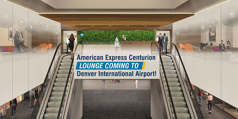 American Express Centurion Lounge Coming To Denver