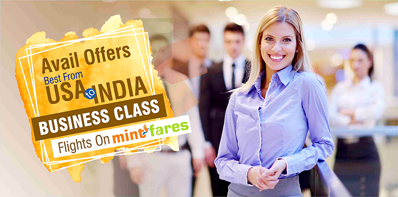 Avail Offers Best From USA To India Business Class Flights On Mint Fares!