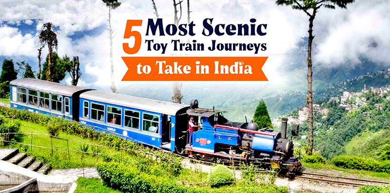 Do You Know: 5 Most Scenic Toy Train Journeys To Take In India