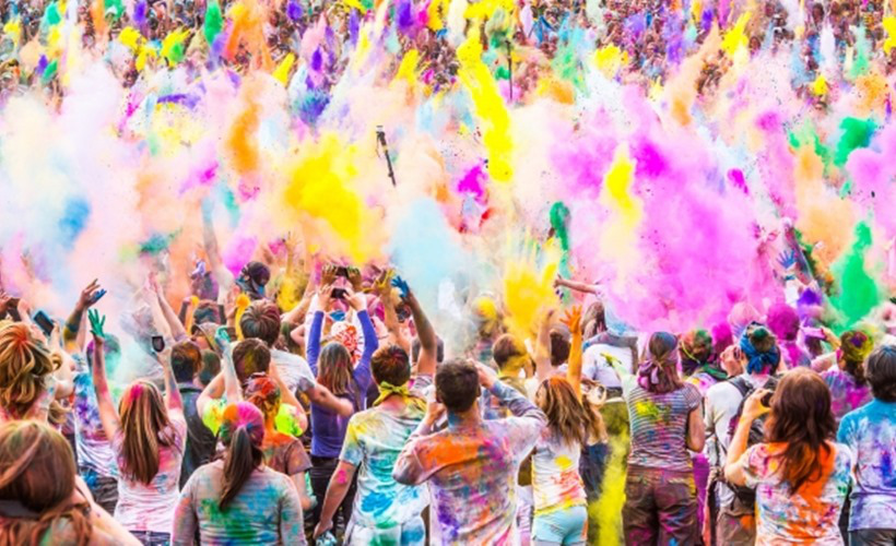 4 Best Places to Celebrate Holi in India