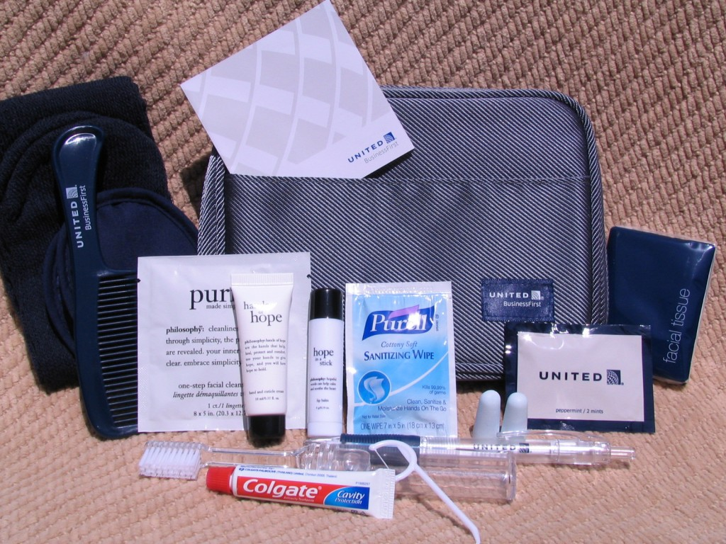 Do You Know United Airline has refreshed its Amenity Kit?