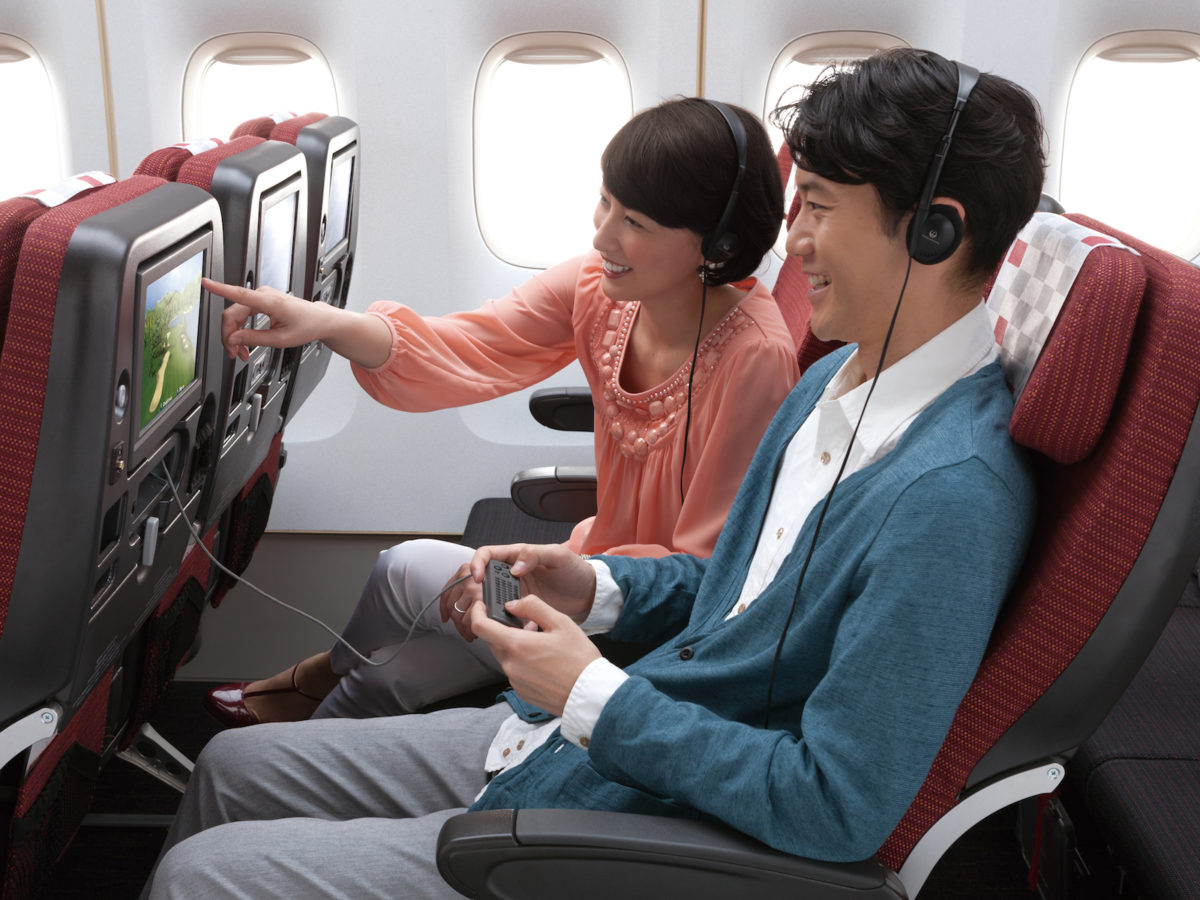 Best In-Flight Entertainment Provider Airlines