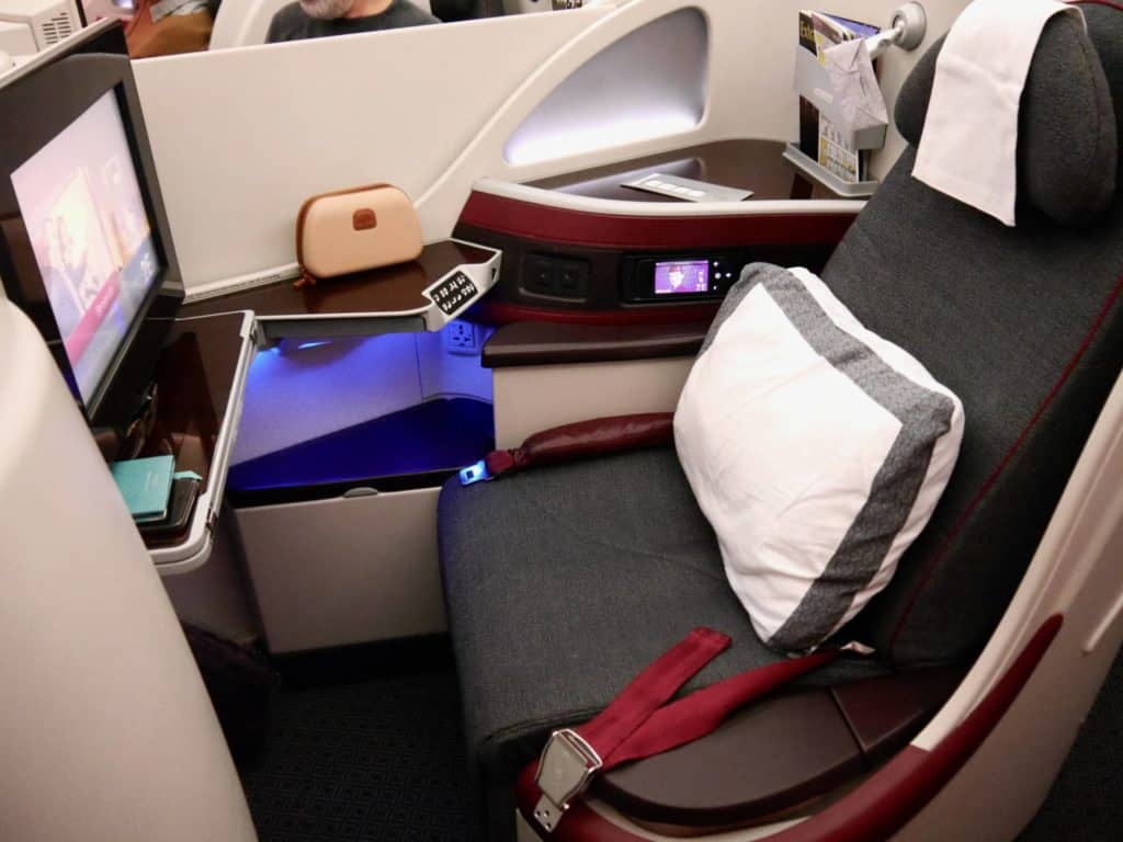 Know Your Business Class Seat