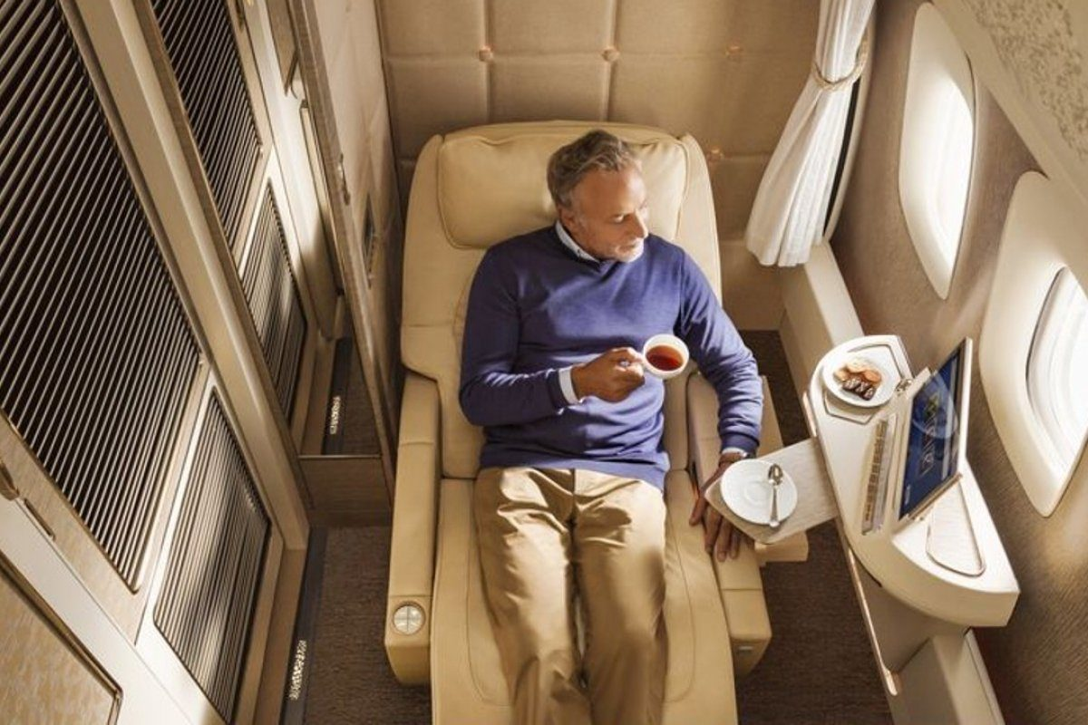 Are You Flying First Time In The First Class? Check This Out