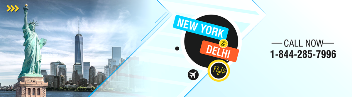 New York to Delhi Flights
