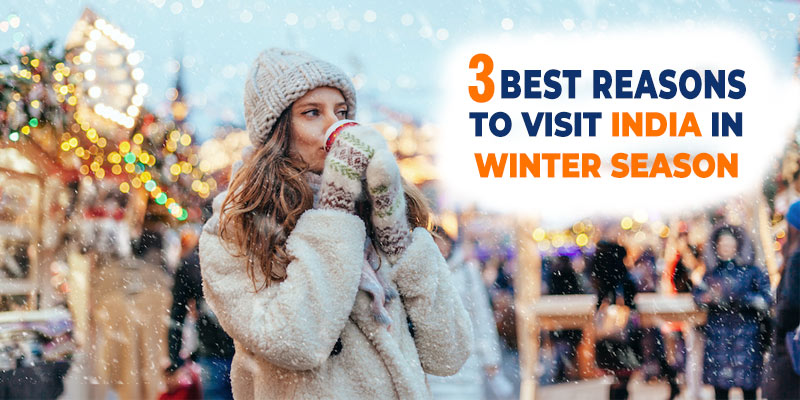 3 BEST REASONS TO VISIT INDIA IN WINTER SEASON