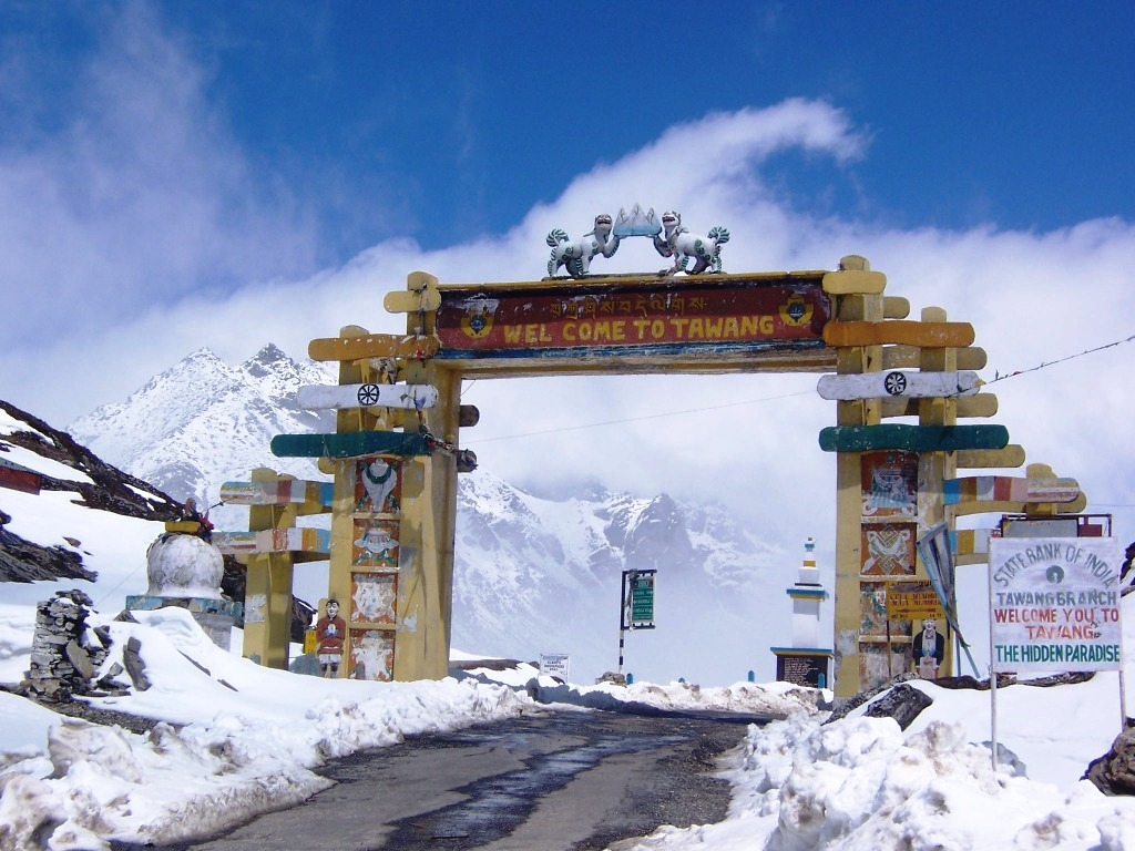 Wonderful Gateway in Northeast India, Tawang